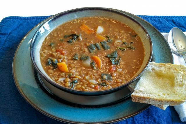 Spicy Indian Lentil Soup